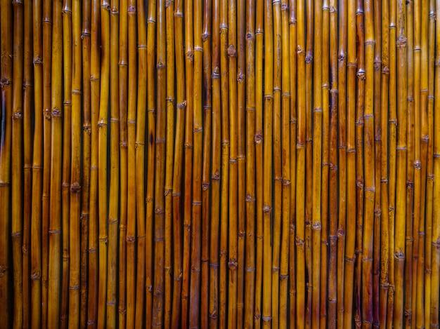 Fundo de bambu marrom