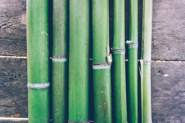 Fundo de bambu verde
