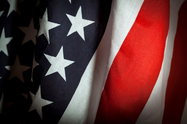 Fundo de bandeira do estado unidos da américa dos eua.