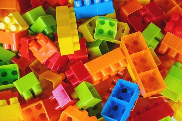 Fundo de bloco de brinquedo