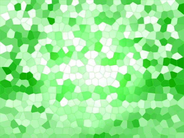 Fundo de blocos verdes