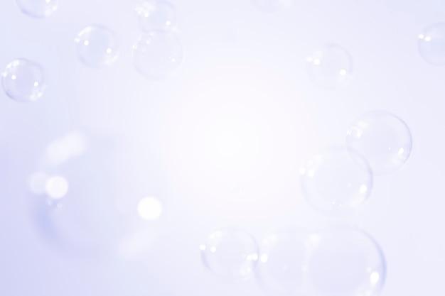 Fundo de bolhas de sabão