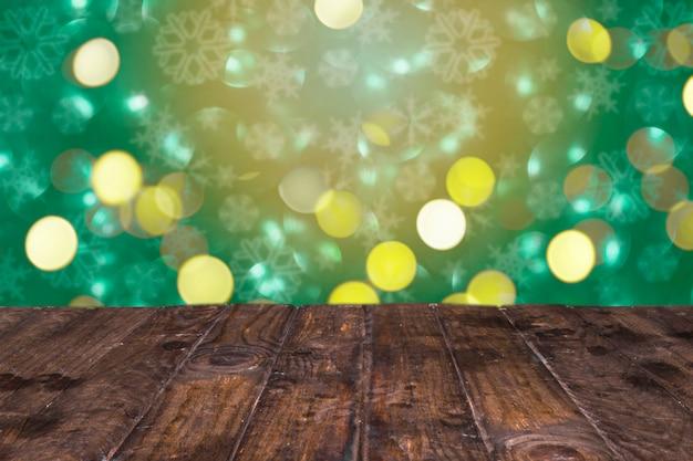 Fundo de brilho lindo com estilo de natal
