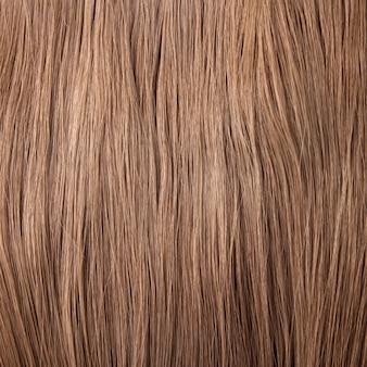 Fundo de cabelo castanho
