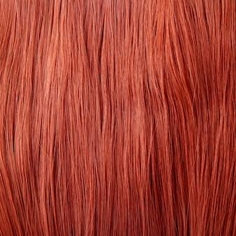 Fundo de cabelo vermelho