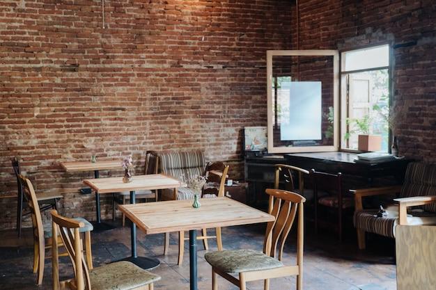 Fundo de cafeteria confortável