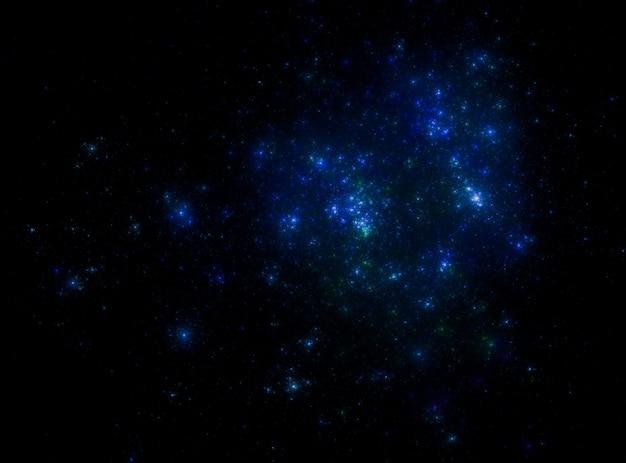 Fundo de campo de estrelas. textura estrelado do espaço do espaço.