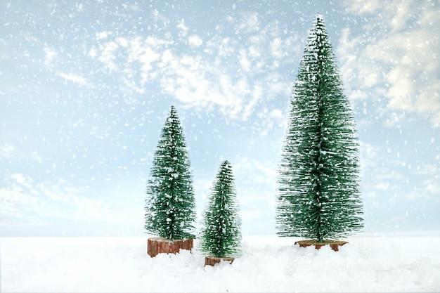 Fundo de cartão postal vintage feliz natal