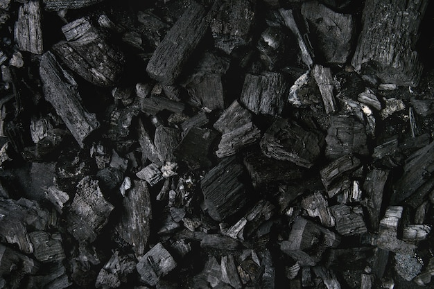 Fundo de carvão preto