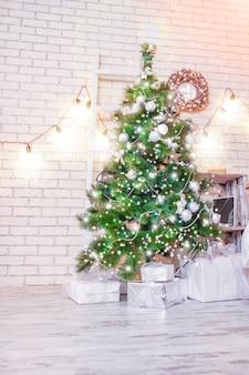 Fundo de casa feliz natal
