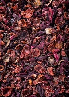 Fundo de chá de rosa mosqueta