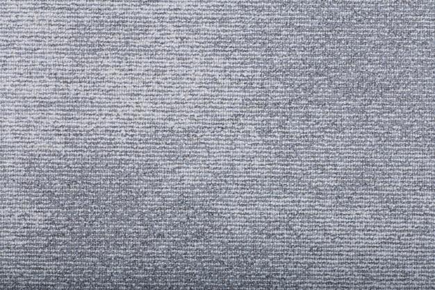 Fundo de cobertura de tapete. padrão e textura do tapete de cor cinza. copie o espaço