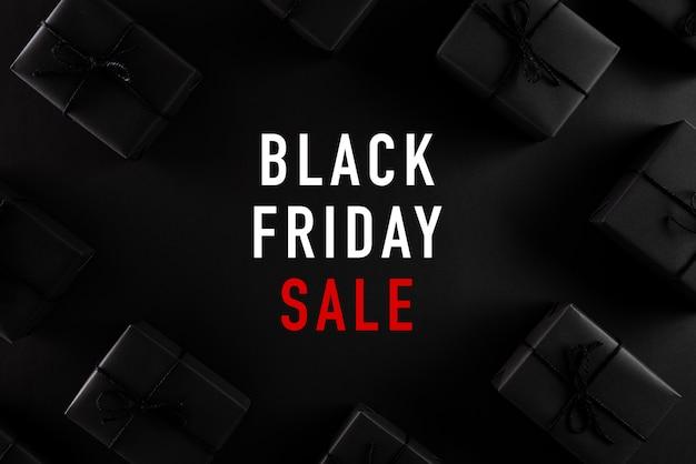 Fundo de composição de venda sexta-feira negra.