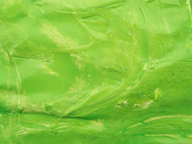 Fundo de cor acrílica verde