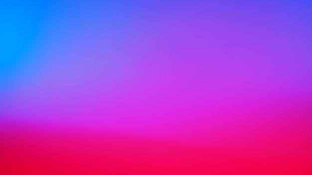 Fundo de cor azul néon, vermelho, laranja, roxo, violeta e roxo. fundo gradiente desfocado abstrato. modelo de banner.
