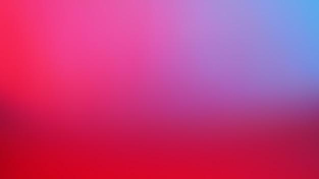 Fundo de cor azul, vermelho, néon, rosa e roxo. fundo gradiente desfocado abstrato. modelo de banner.