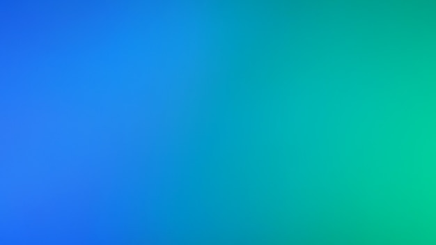 Fundo de cor de luz verde e azul néon. fundo gradiente desfocado abstrato. modelo de banner.