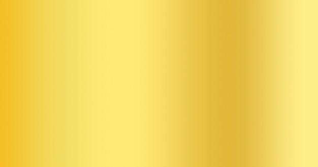 Fundo de cor gradiente dourado para pano de fundo abstrato criativo