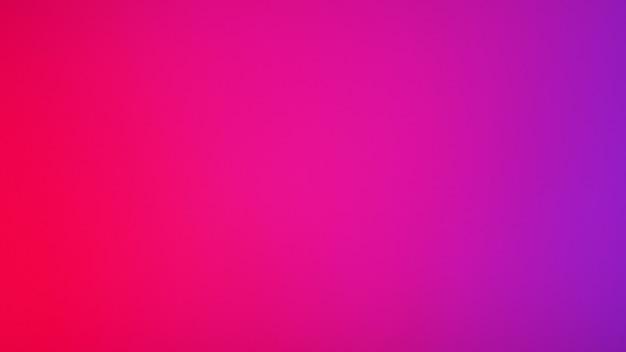 Fundo de cor rosa vermelha e violeta neon. fundo gradiente turva abstrato. modelo de banner.