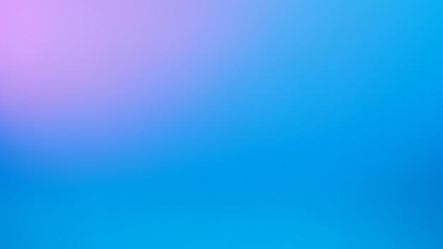 Fundo de cor roxa cblue e pink pastel. fundo gradiente borrado abstrato. modelo de banner.