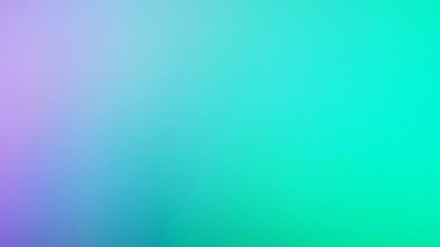 Fundo de cor verde e roxo menta. fundo gradiente turva abstrato. modelo de banner. pano de fundo de malha com cores doces.