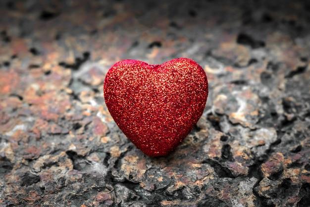 Fundo de coração vermelho. papel de parede dia dos namorados.