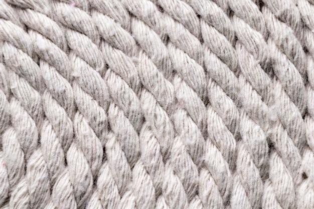 Fundo de cordas brancas de navio