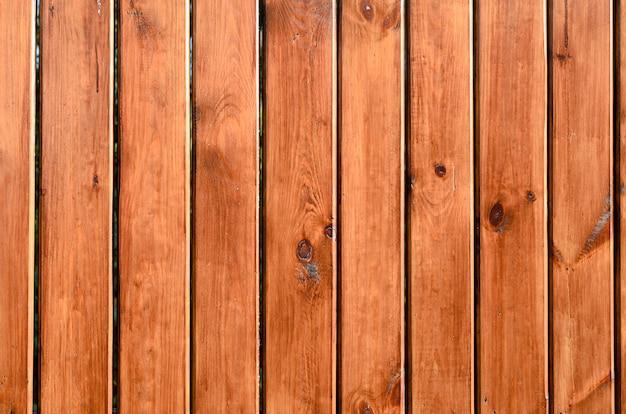 Fundo de cores naturais de tábuas de madeira