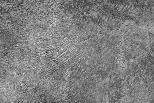 Fundo de couro preto com ricos detalhes de textura