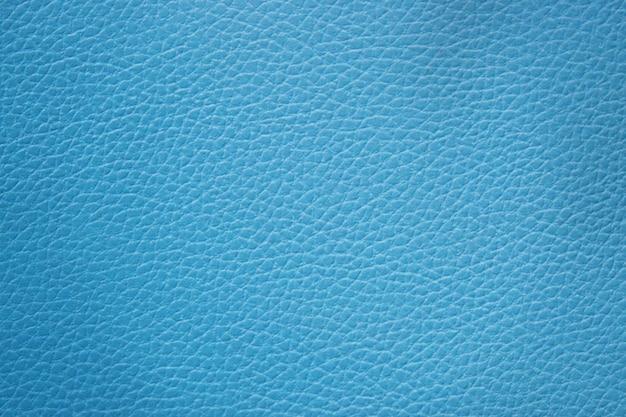 Fundo de couro texturizado azul abstrato