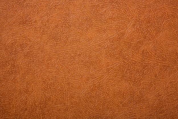 Fundo de couro texturizado marrom ou laranja