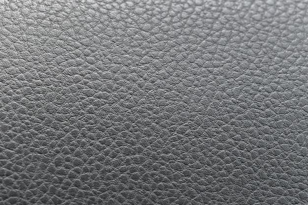 Fundo de couro texturizado preto abstrato