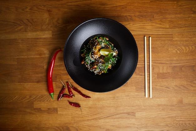 Fundo de cozinha oriental