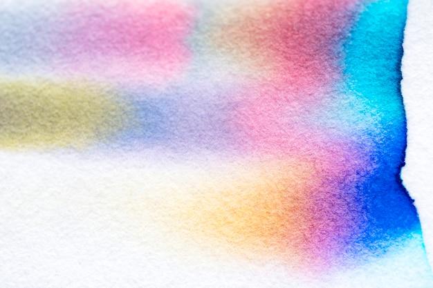 Fundo de cromatografia abstrato estético em tons coloridos