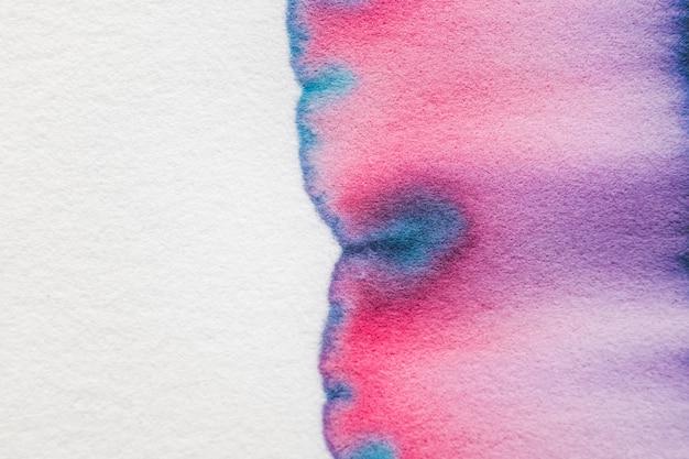 Fundo de cromatografia estética abstrata em tom vermelho