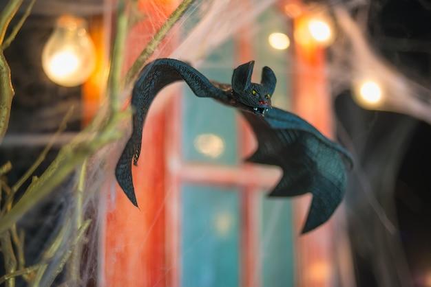 Fundo de decoração de halloween