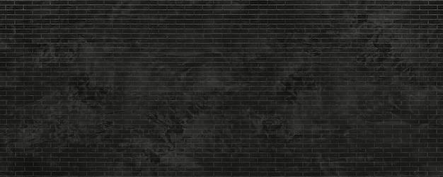 Fundo de detalhes de textura de tijolo preto antigo