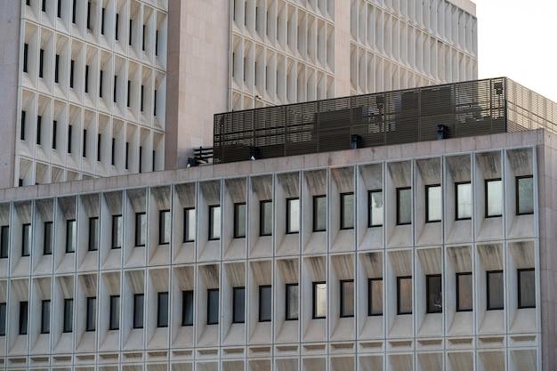 Fundo de edifícios com textura de concreto