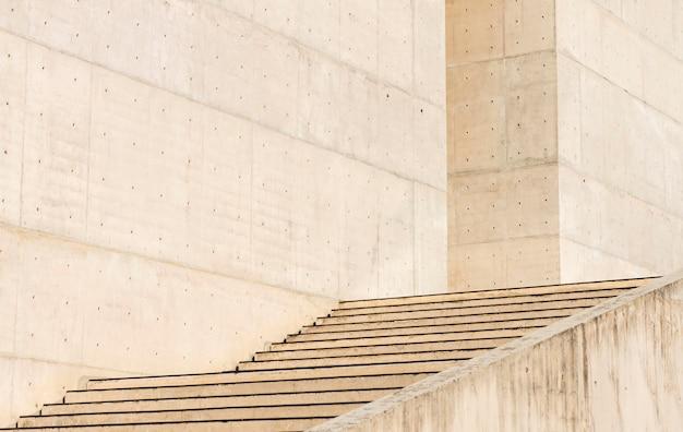 Fundo de edifícios e escadas