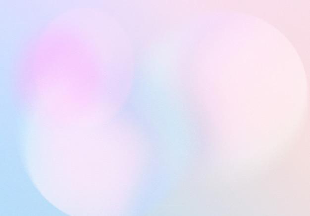Fundo de efeito de ruído de grão gradiente abstrato com padrão desfocado colorido e pastel, para design de produto e mídia social