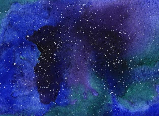 Fundo de escova aquarela abstrata. ilustração de pintados à mão.