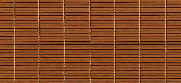 Fundo de esteira de bambu