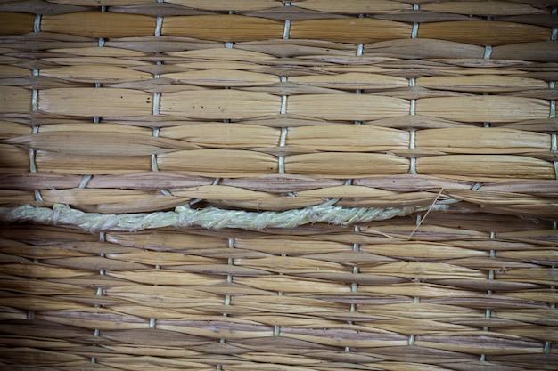 Fundo de esteira tailandesa de textura.