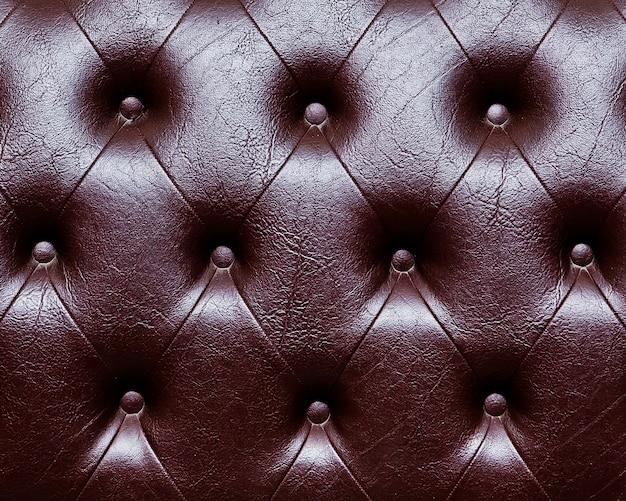 Fundo de estofos de couro genuíno para uma decoração de luxo em tons marrons