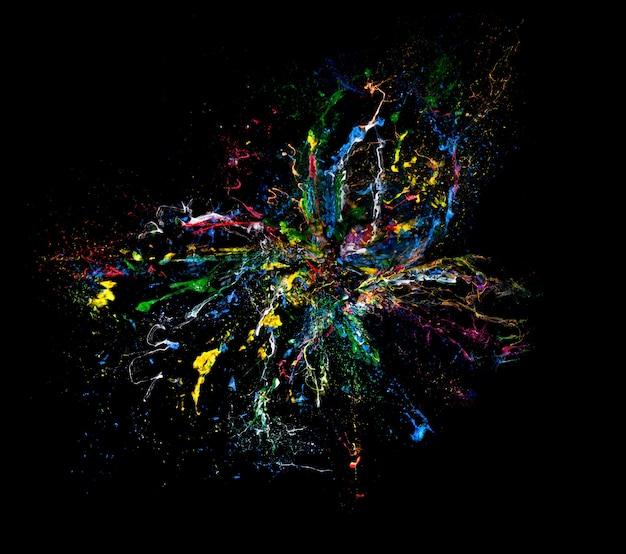 Fundo de explosão de cor