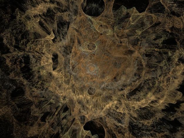 Fundo de explosão fractal