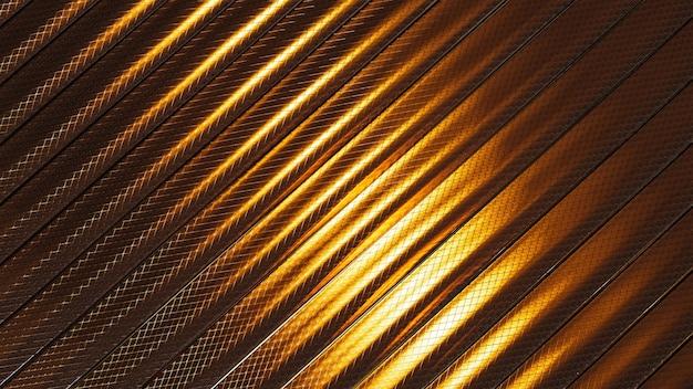 Fundo de faixa metálica brilhante