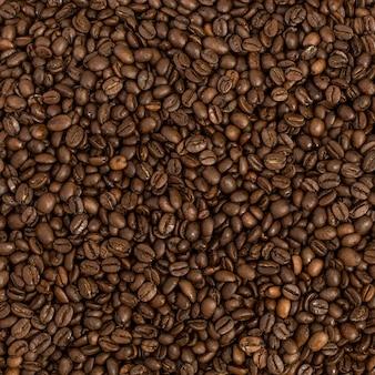 Fundo de feijão de café