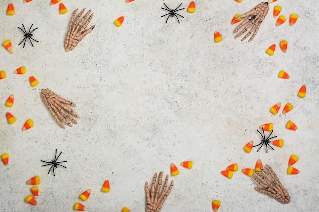 Fundo de feriado de halloween