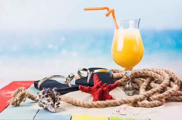 Fundo de férias de férias de verão